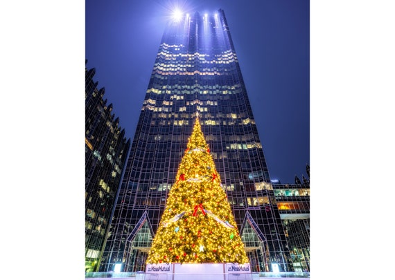 Christmas Tree at PPG Place