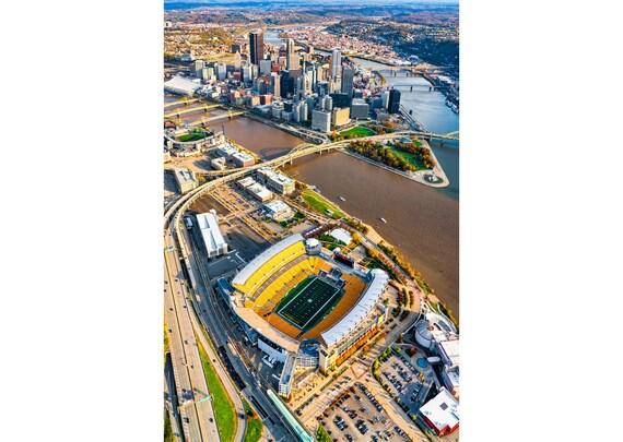 Heinz Field and Pittsburgh Skyline