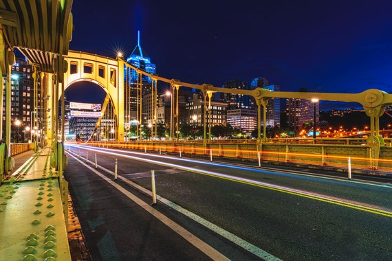 Clemente Bridge at Night