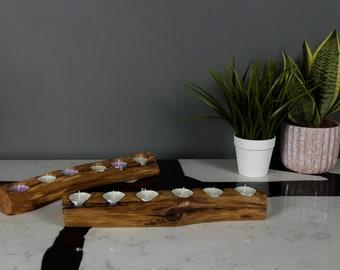 Tea Light Holder - Rustic / Warm / Reclaimed / Driftwood / Ethical