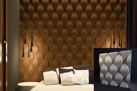 Decorative Wall 3d Panels Mold For 3d Panels 3d Wall Panels Plaster Gypsum Alabaster Abs Plastic Molds Illusion