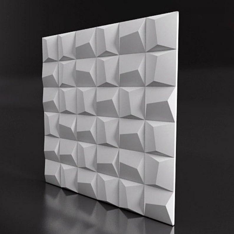 Light Equipment & Tools *wave* 3d Decorative Wall Panels 1 Pcs Abs Plastic Mold For Plaster