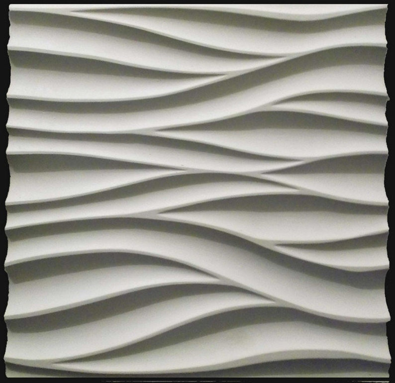 Ceramics & Pottery Business & Industrial *puzzle* 3d Decorative Wall Panels 1 Pcs Abs Plastic Mold For Plaster Comfortable Feel