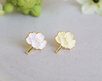 Womens Earrings Studs Girl Jewelry Teen Gifts Poppy Flower Earrings Valentines Day Gifts Cute Gifts for girls Birthday gifts for her