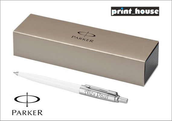 Personalised Engraved Parker Jotter Ballpoint Pen FREE BOX ENGRAVING Great Gift