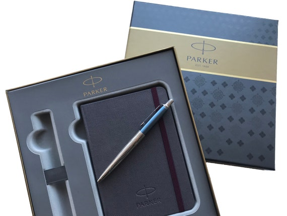 Stylus Silver Bronze Waterman Ballpoint Pen with Gift Box – Stainless Steel