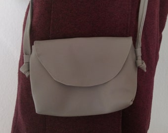 self-sewn faux leather Gym bagbackpack new