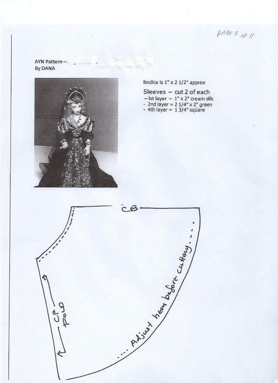 1:12 scale Miniature Doll Art Tutorials-Patterns-Clothes//Hair///& more MILLY
