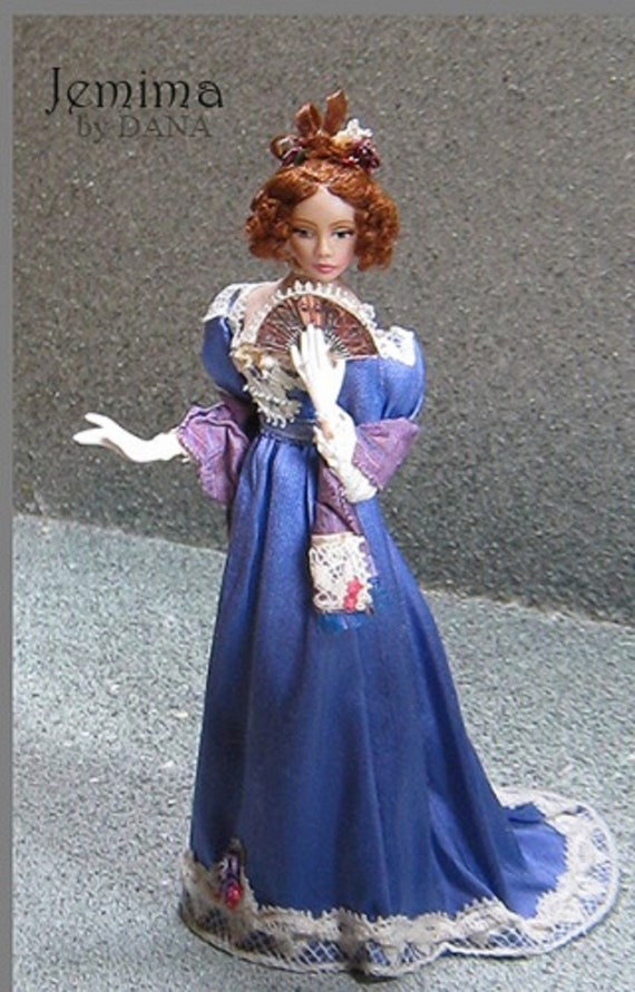 1:12 Visual Mini Dollhouse Doll Dressing Made Easy~Patterns By Dana~SAPHYRE~PDF