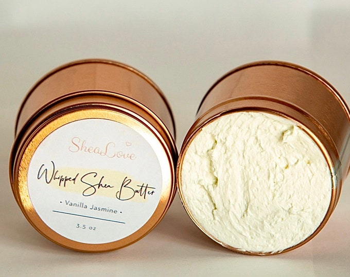 Whipped Shea Butter / Whipped Body Butter / All Natural Skin hair moisturizer