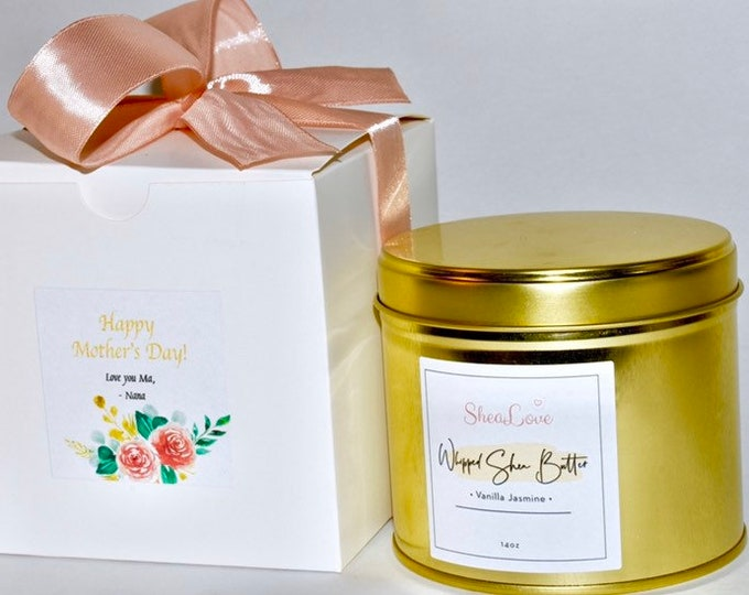 Mother's Day / Whipped Shea Butter / Mother's Day Gift / Send a Gift / Customize Gift / Gift Box for Her / First Time Mom