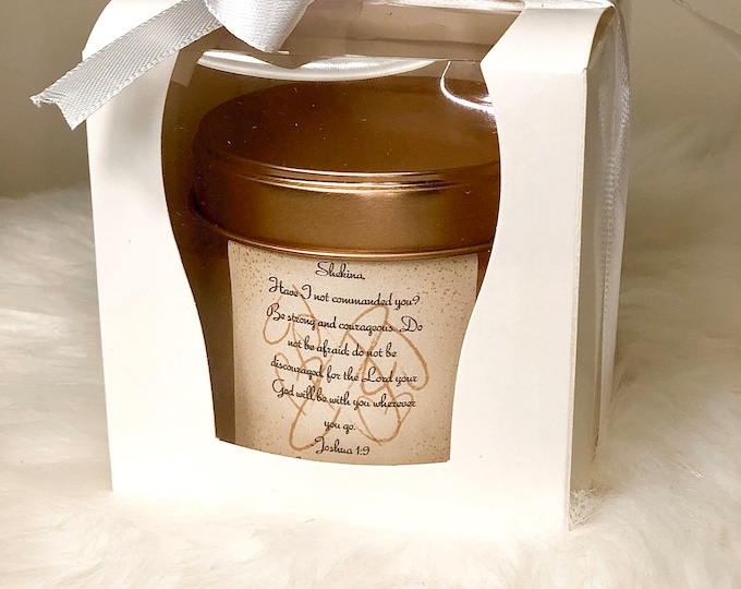 Whipped Shea Butter Favors / Bible Verse / Personal customizations