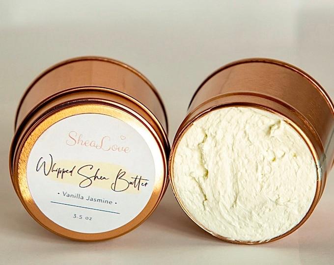 Whipped Shea Butter / Whipped Body Butter / All Natural Skin hair moisturizer