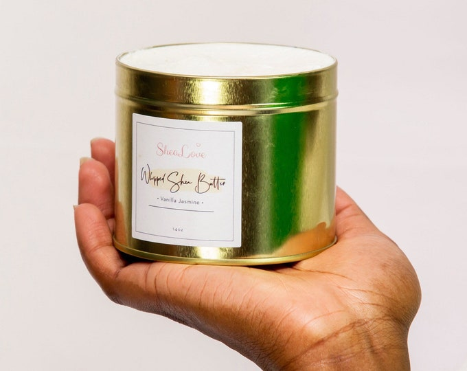 Whipped Shea Butter / Whipped Body Butter / All Natural Body Butter