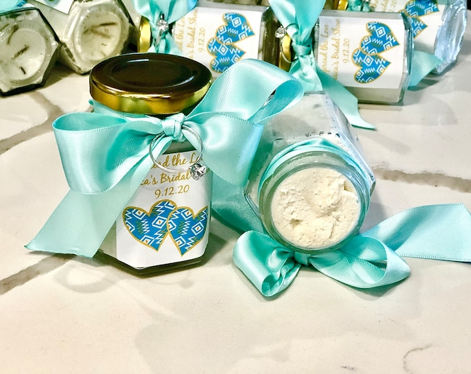 Whipped Shea Butter Favor/Bridal Shower Gift / shea butter / Wedding Favor / gift set / carry on lotion / purse lotion
