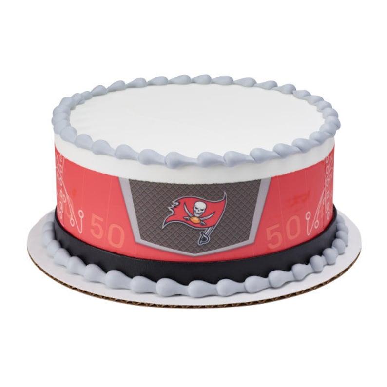 NFL Tampa Bay Buccaneers Edible Cake Image Or Photo | Etsy