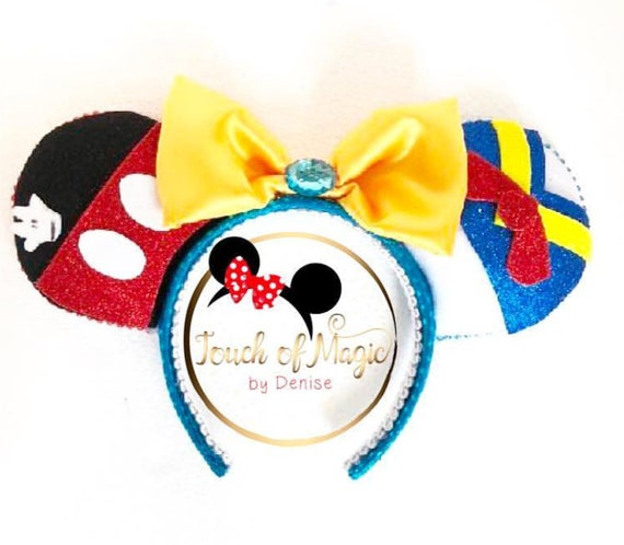 Minnie Ears Mickey and Donal Duck Headband  1deabfb63d0