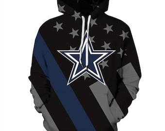 19bf8ae4d Dallas Cowboys Football Team Sport Hoodie Unisex Hoodie With Hat