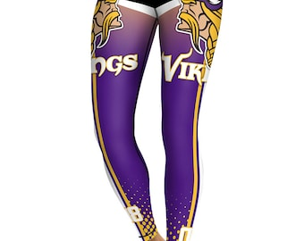 f940f3a025d2c Minnesota Vikings Women's Leggings Conference Champs