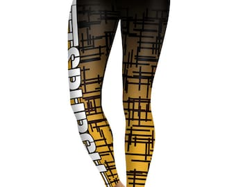be0d82f42d22d Pittsburgh Steelers Football Team Sports Leggings