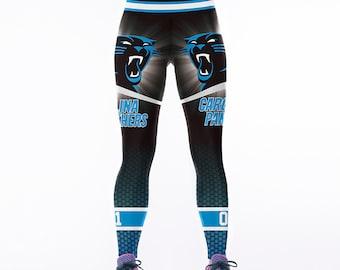 Carolina Panthers Football Team Sports Leggings 56ff3b98d