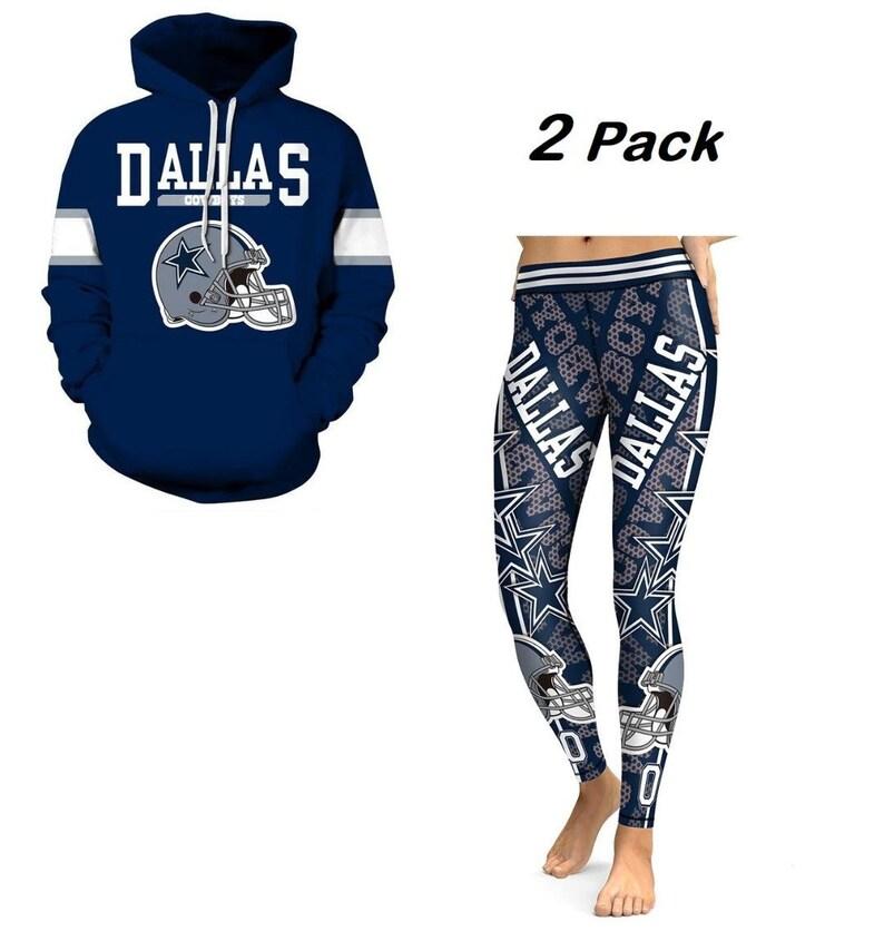 f11fe45a7 Dallas Cowboys Combo Hoodies   Leggings Sports Football