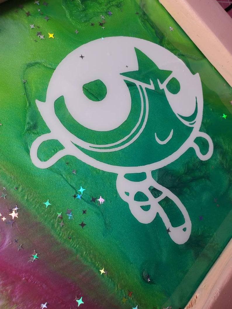 Power Puff resin art
