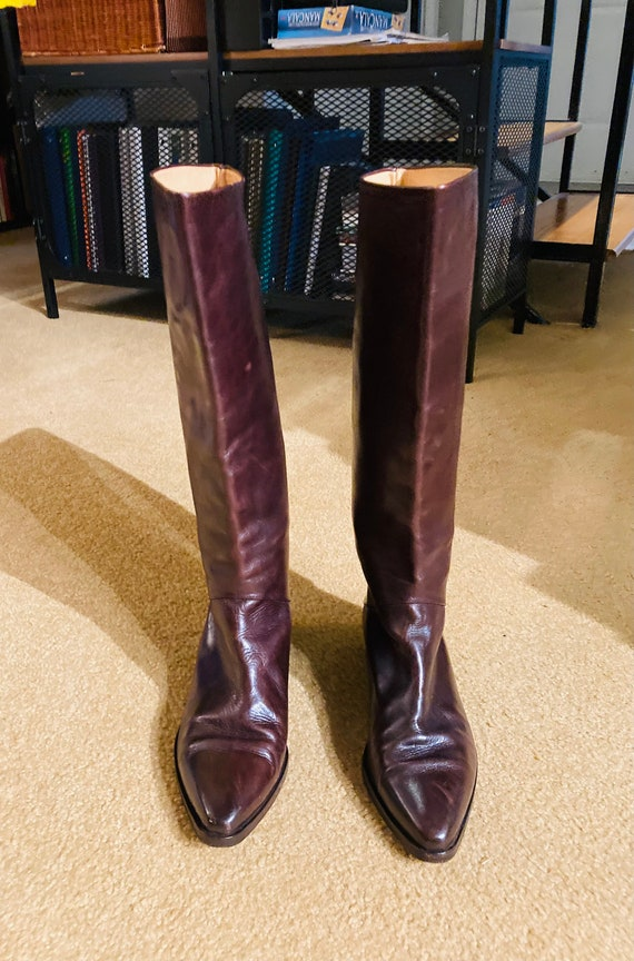 Vintage Joan & David Couture Riding Boots