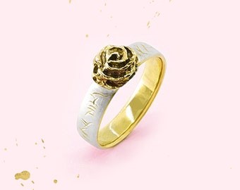 Roses Ring Gold/Silver