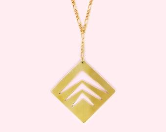 Geometric Leaf - Chain