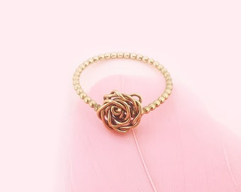 Rose Cord Ring - Ring