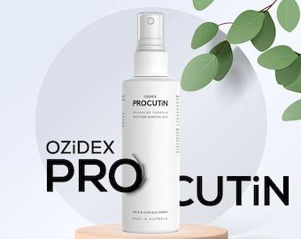Treat Acne Rosacea, Dermatitis, Blepharitis Itchy Hair loss | Demodex Mite Demodicosis Treatment | Natural Herbal Solution | Ozidex Procutin