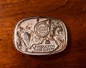 Brass Coal Miners Employee Belt Buckle Pyro Mining Co Kentucky 1 of 1000