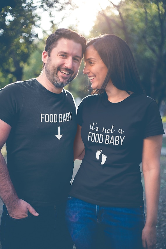 Pregnancy Reveal Family T-Shirts Couple Shirts Funny Matching Tee Women Tops UK