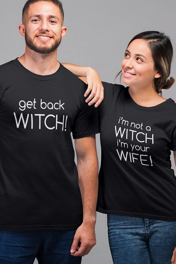 Matching Couple Shirts Couples Halloween Shirts Gift For Etsy