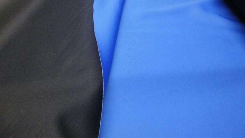 Neopren-Imitat Stoff Doubleface Stretch Neoprenstoff Bekleidung Deko