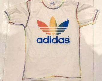 518240dd3f879 Adidas rainbow Deadstock