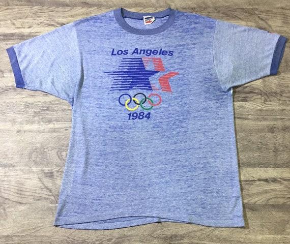 Levis Olympic 1984 Ringer T shirt Vintage