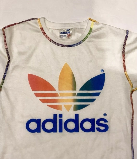 Adidas rainbow Deadstock - image 3