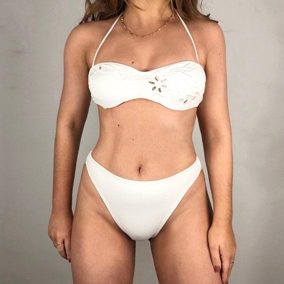 Vintage white La perla bikini