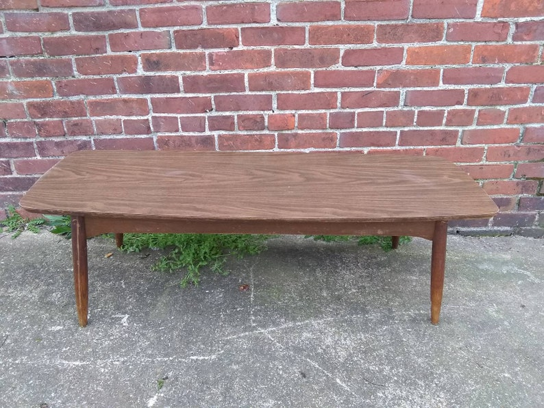 Vintage Retro Wooden Coffee Table Refurbishing Project 1960/'s