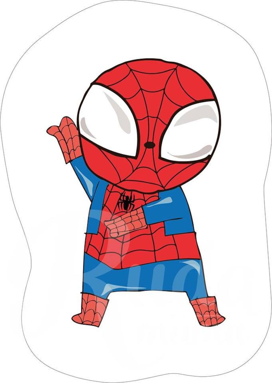 Cotton cloth panel spiderman hero