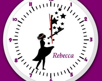 Uhr für kinderzimmer   Etsy