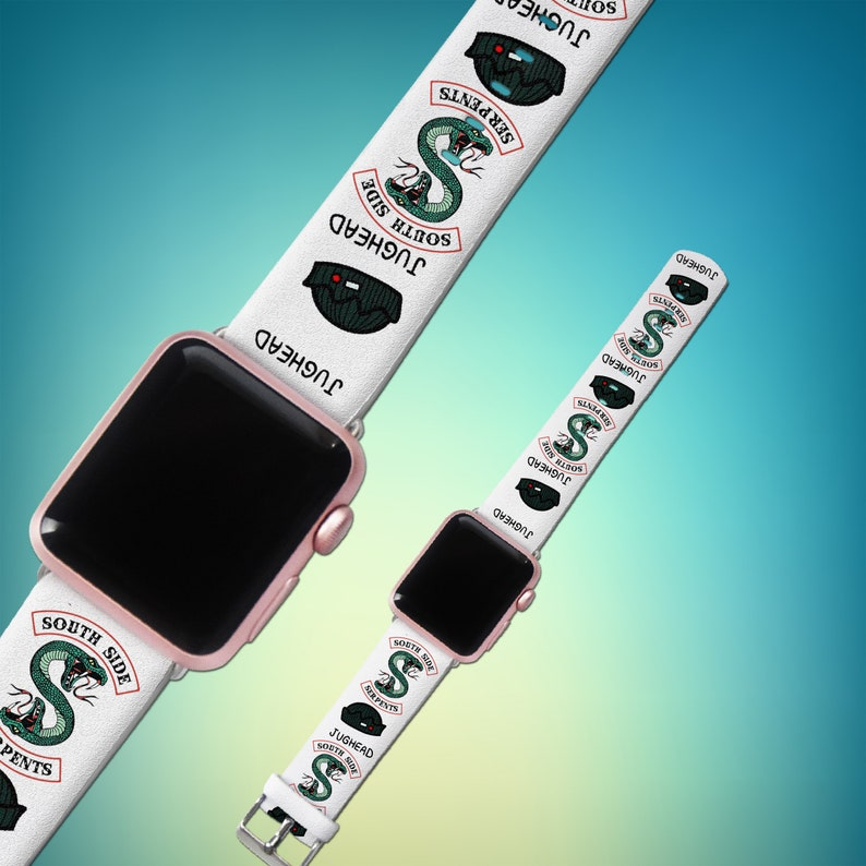 Inspired by Riverdale Jughead iWatch band Apple watch 44mm iWatch strap  Watchband leather band Watch band 38mm iWatch 42mm Apple watch 40mm