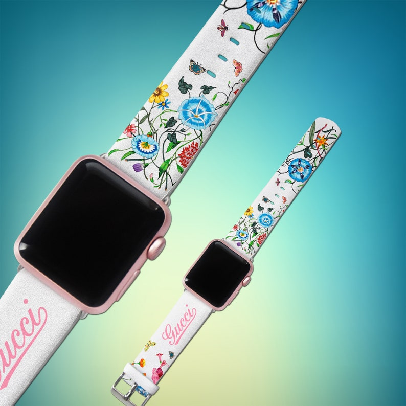 071af438a08 Fashion band Inspired by Gucci gift iWatch band 44mm iWatch