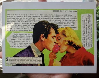 """Collage Print #11: Sal Mineo Goes on a """"Date"""""""