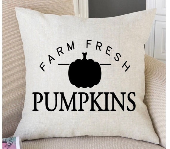 Chic fall pillow