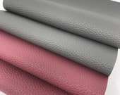 Faux leather sheets. Available in 4. Gray and Mauve Leather sheets. Craft  supplies. Leather supplies. Leather hair bows and earrings. 1311 photo