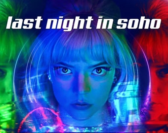 last night in soho 9 preset pack - red, blue and green adobe lightroom presets anya taylor joy