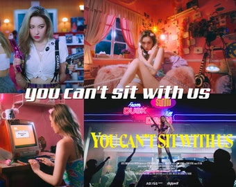 you can't sit with us sunmi adobe lightroom preset